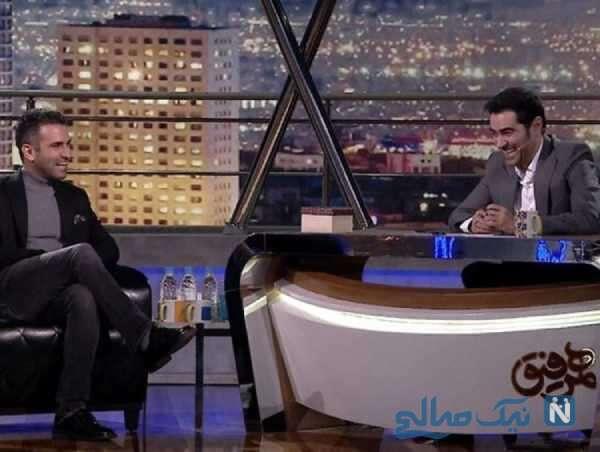 شهاب حسینی و هوتن شکیبا