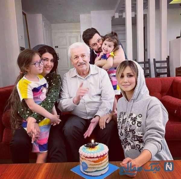 جشن تولد پدر شاهرخ استخری