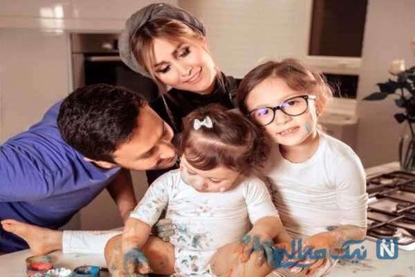 عکس خانوادگی شاهرخ استخری بازیگر