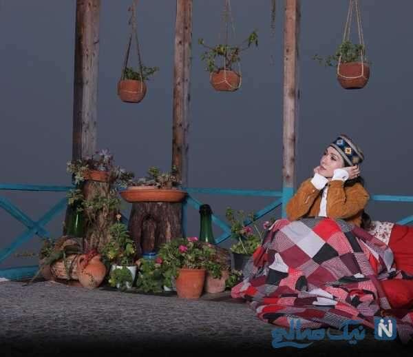 تیپ سنتی خانم بازیگر