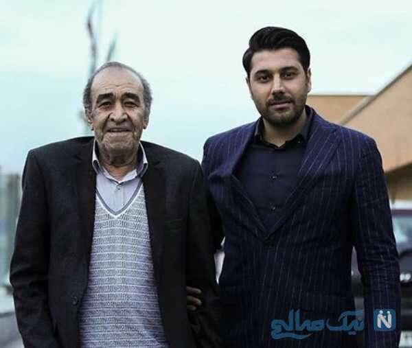 ایرج خواجه امیری خواننده معروف و پسرش