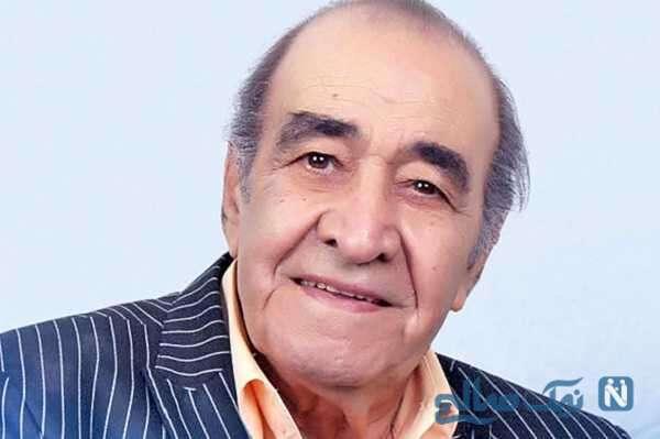 لحظه تزریق واکسن کرونا به «ایرج خواجه امیری» خواننده معروف و پهلوان آواز