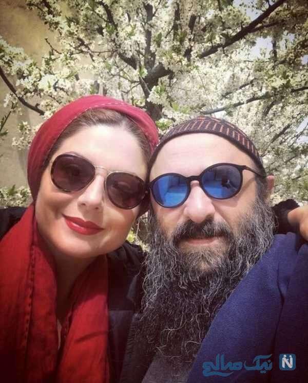 عاشقانه های سولماز غنی و شوهرش