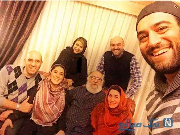 عکس خانوادگی داریوش ارجمند