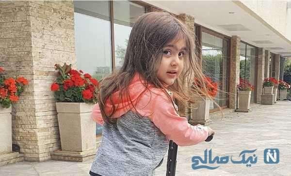 اسکوتر بازی دختر محسن کیایی