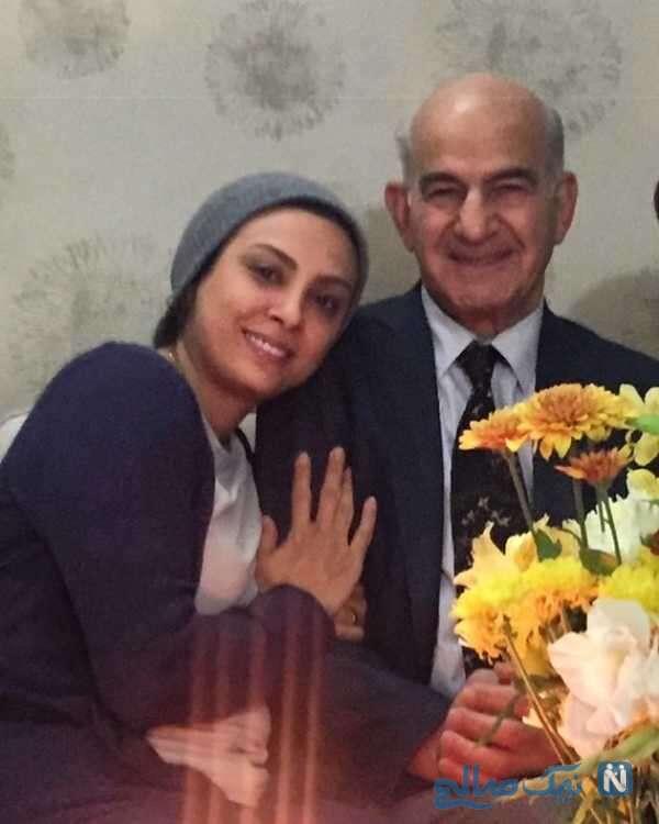 درگذشت پدر حدیثه تهرانی
