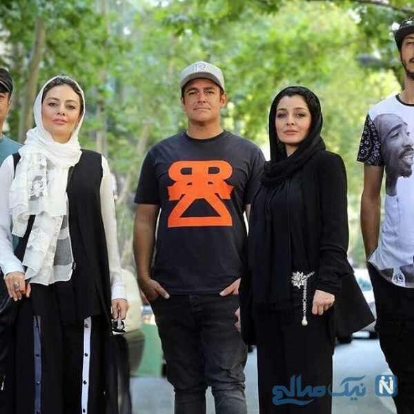 محمدرضا گلزار و خانم های بازیگر