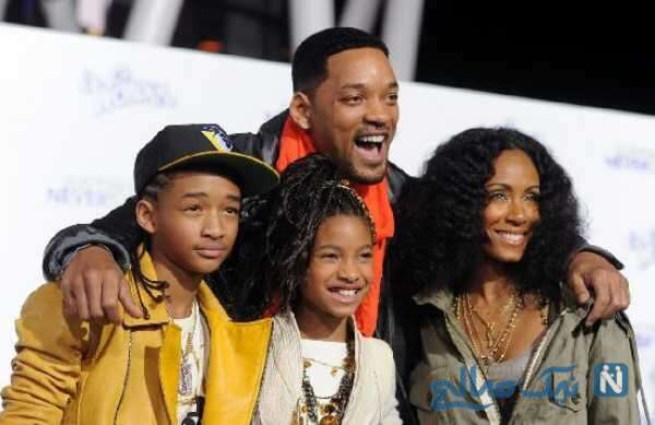 همسر و فرزندان هنرپیشه معروف
