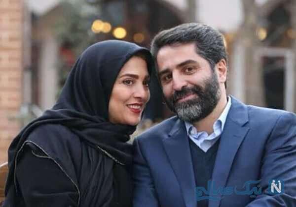 عاشقانه های ژیلا صادقی با همسرش