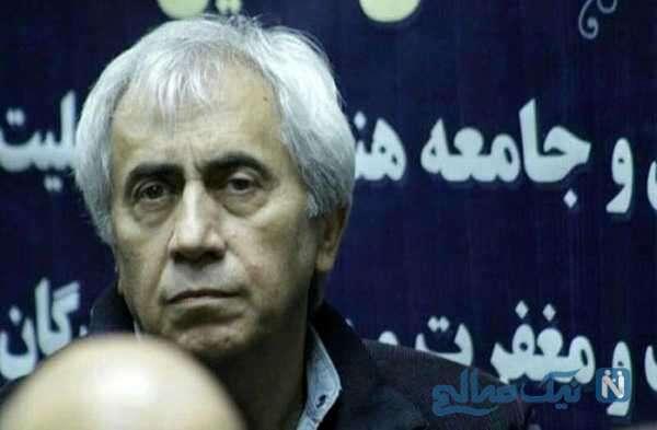 مراسم خاکسپاری مرحوم بیژن افشار بازیگر معروف با حضور چهره های سرشناس