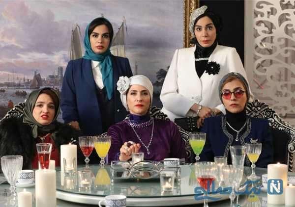 تصویری از بازیگران سریال دراکولا