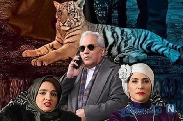 عکس سلفی جالب بازیگران سریال دراکولا در پشت صحنه
