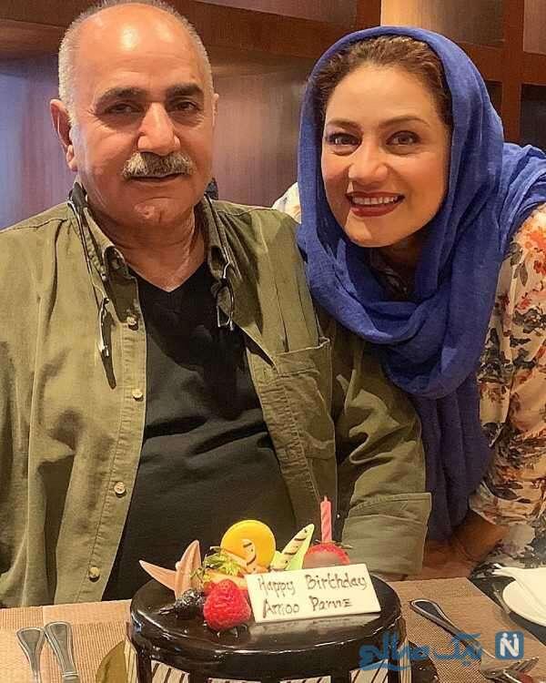شبنم مقدمی و پرویز پرستویی