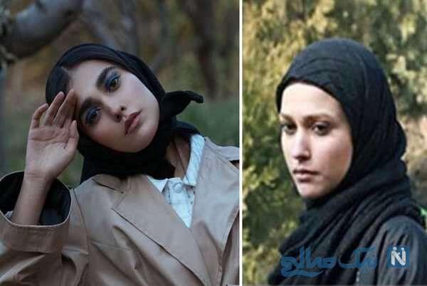 تصویری از آدرینا صادقی بازیگر احضار