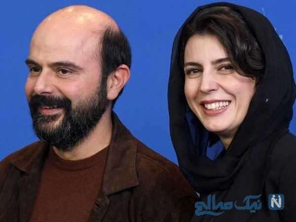 لیلا حاتمی بازیگر معروف و همسرش