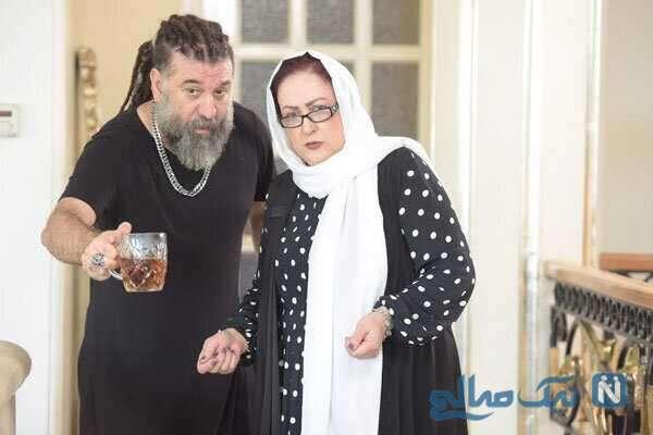 مریم امیرجلالی و علی انصاریان