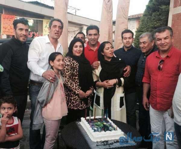 جشن تولد احمدرضا عابدزاده دروازه بان