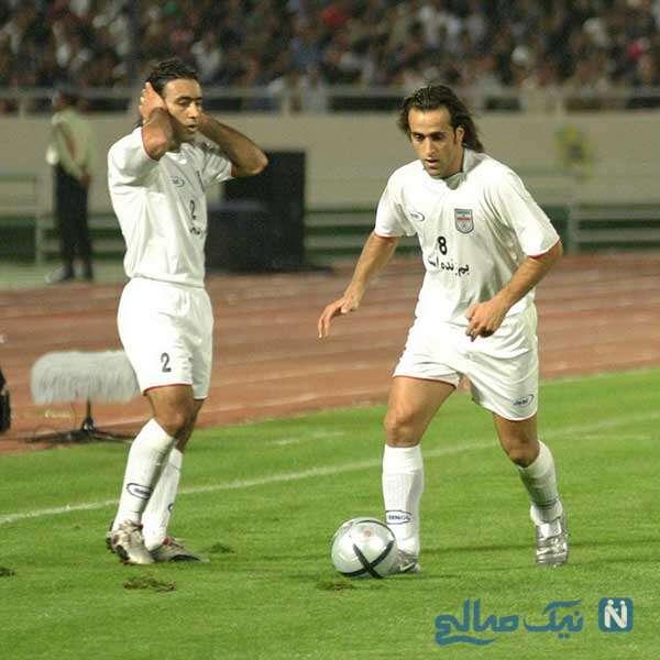 دوران فوتبالی علی کریمی
