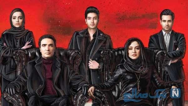 تصویری از امیر حسین آرمان بازیگر مانکن