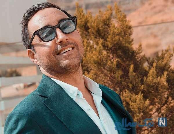 عکسی که امیرحسین رستمی بازیگر از پسر نوجوانش منتشر کرد