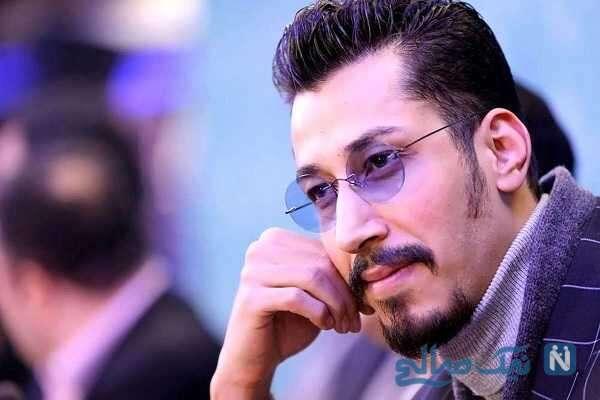 نوید محمدزاده و هوتن شکیبا در جشن تولد بهرام افشاری بازیگر پایتخت