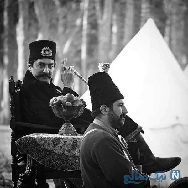 بازیگر نقش ناصر الدین شاه در سریال جیران
