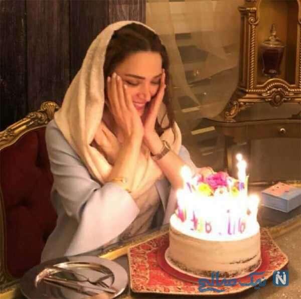جشن تولد بهنوش طباطبایی