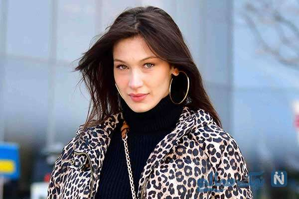 بلا حدید مدل معروف آمریکایی در راهپیمایی حمایت از فلسطین
