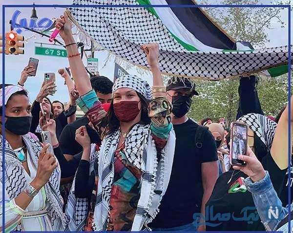 راهپیمایی برای حمایت از فلسطین