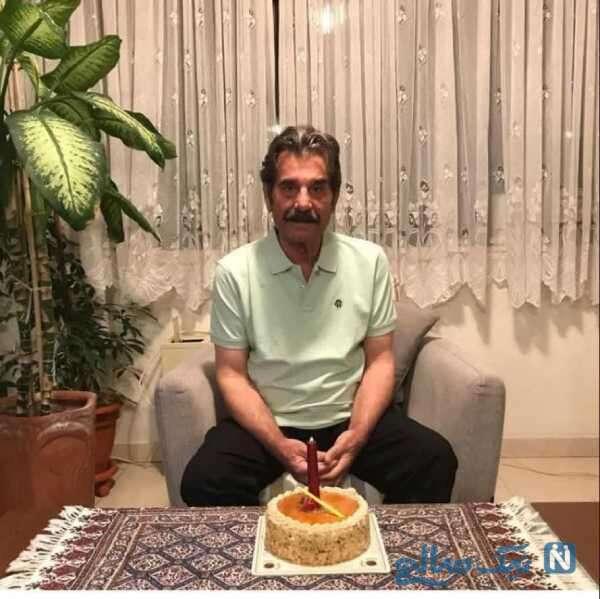 تولد 73 سالگی عزت الله مهرآوران