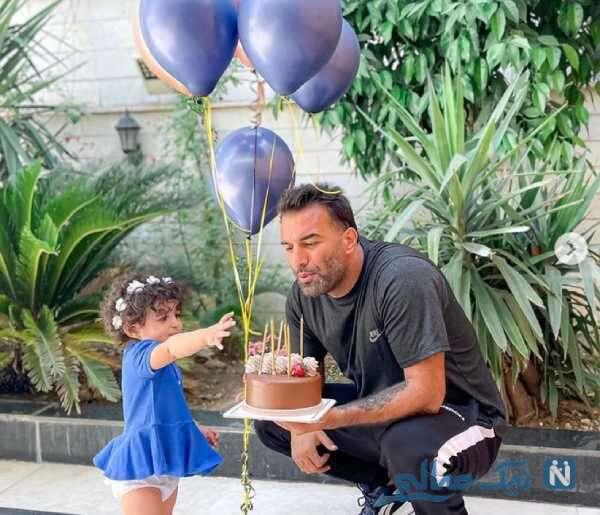 کیک تولد حنیف عمران زاده