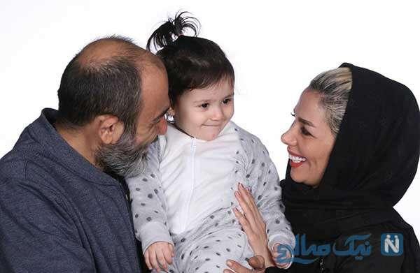 عکسی که مهران غفوریان برای تولد همسرش منتشر کرد