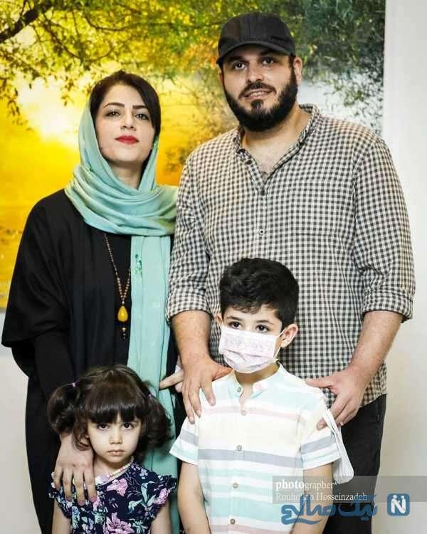 همسر و فرزندان محمدحسین مهدویان