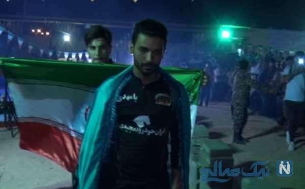 ورزشکارخارقالعاده بوشهری رکورددار شکستن اجسام سخت در جهان شد