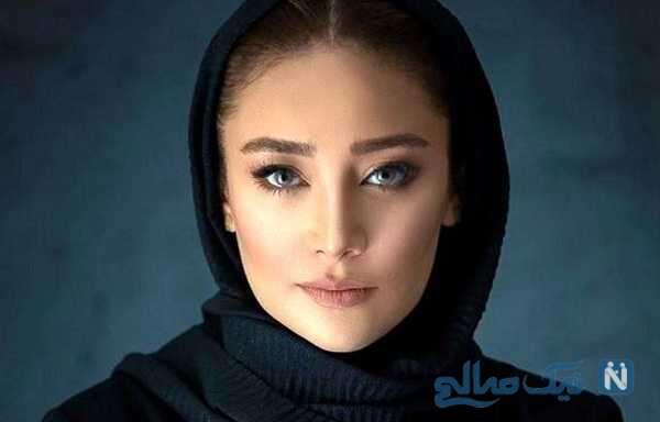 بازیگر سینما بهاره افشاری در کنار دختر افغان با چهره جدید و متفاوت