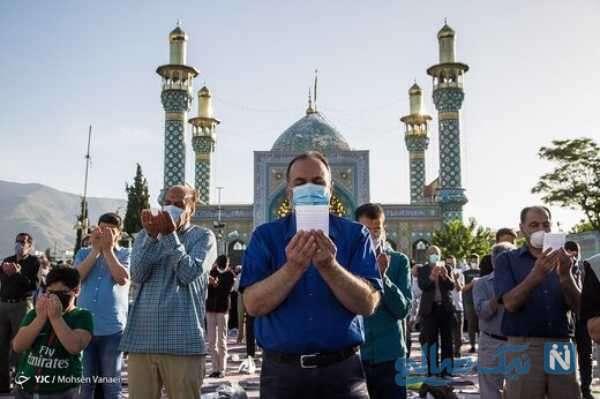 اقامه نماز در تهران