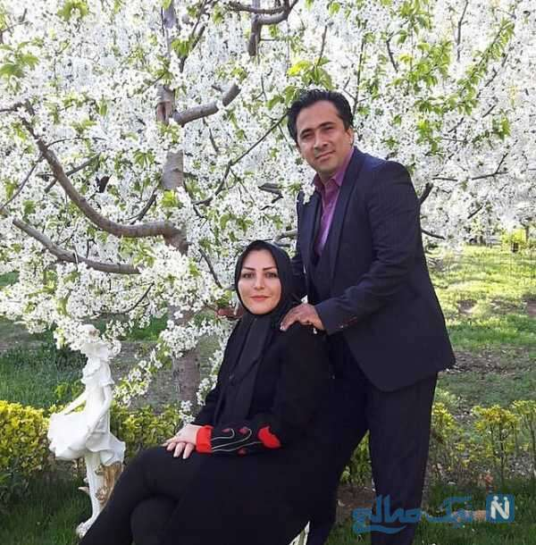 استایل بهاری المیرا شریفی مقدم و همسرش