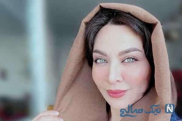 تصویر جالب از فقیهه سلطانی بازیگر سریال یاور در کنار همسر و دخترش