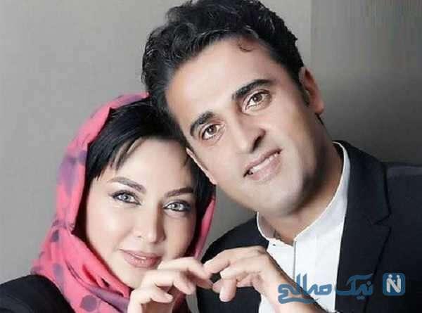 فقیهه سلطانی با همسرش جلال امیدیان