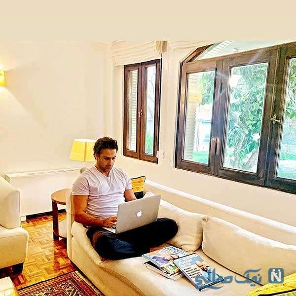 مجیدی در خانه اش
