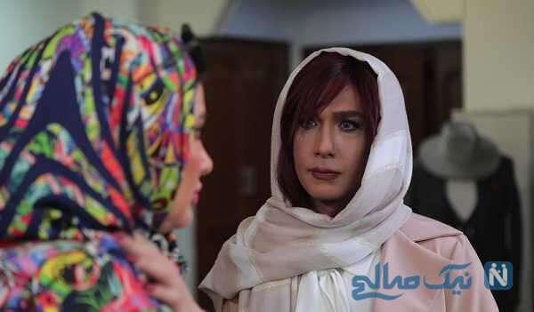 گریم زنانه حسین مهری در فیلم مزون کار