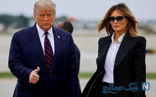 رئیس جمهور سابق آمریکا و همسرش