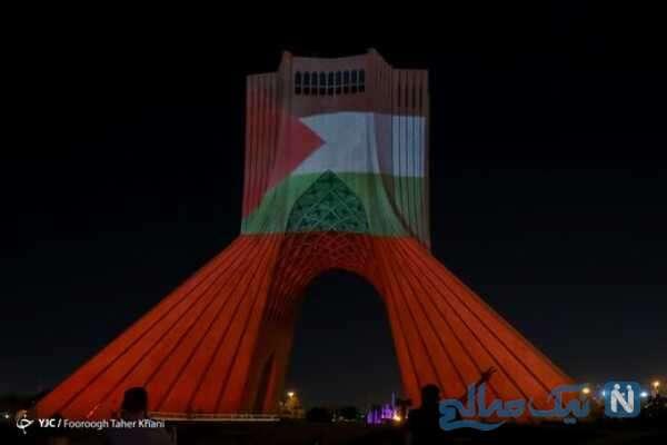 همدردی با مردم فلسطین