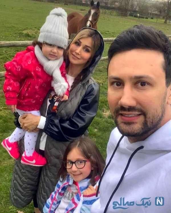 همسر و دختران بازیگر معروف