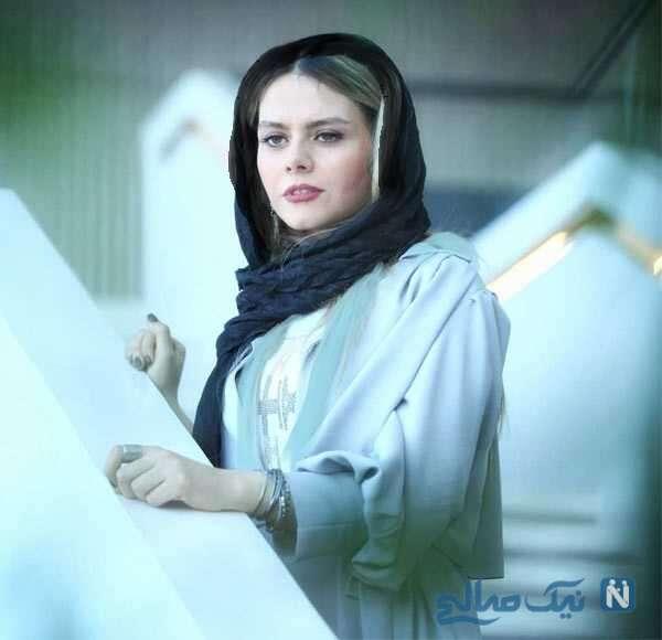 استایل شیک بازیگر زن ایرانی