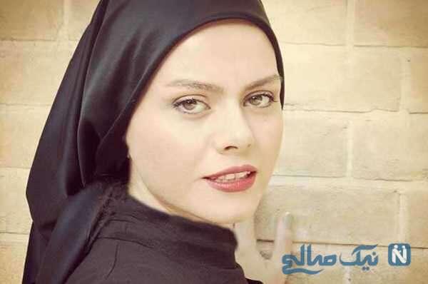 چهره ساده و زیبای غزال نظر بازیگر احضار در نقش رها