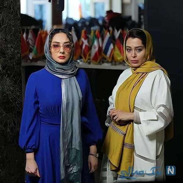 تصویری از هانیه توسلی در سریال گیسو