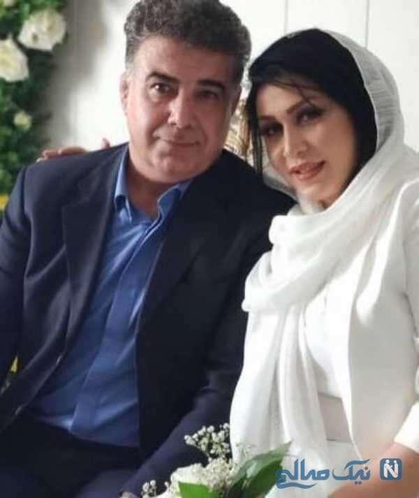 ازدواج حسن شکوهی با ساناز هرندی