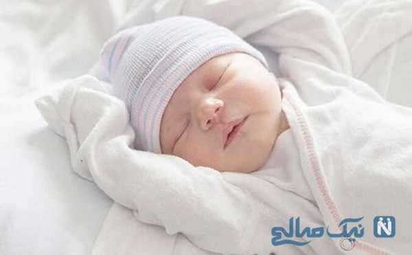 تولد نوزاد سنگین وزن سوژه رسانه ها شد