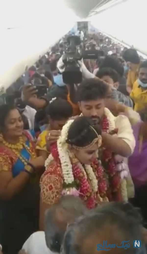 اقدام عجیب عروس داماد هندی برای برگزاری عروسی